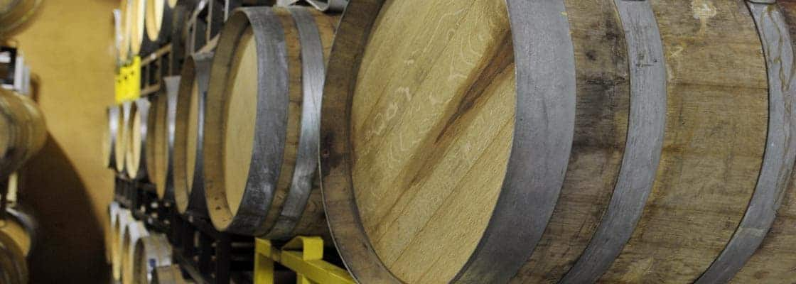 Finished wines spend 18 to 24 months in barrel