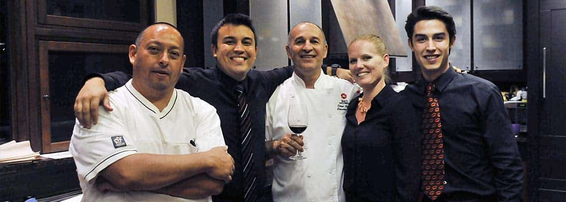 The Baci Team at our Fall Winemaker Dinner